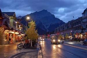 Tourist, Attraction, In, Alberta, Canada