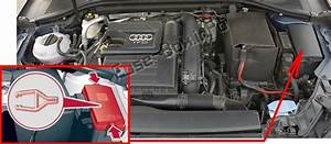 Fuse Box Diagram Audi A3    S3  8v  2013