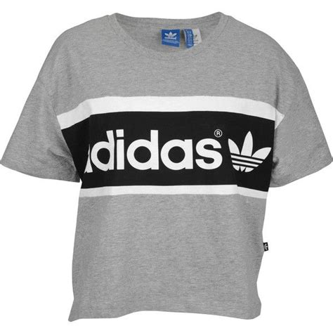 adidas originals crop t shirt s 40 cad liked on
