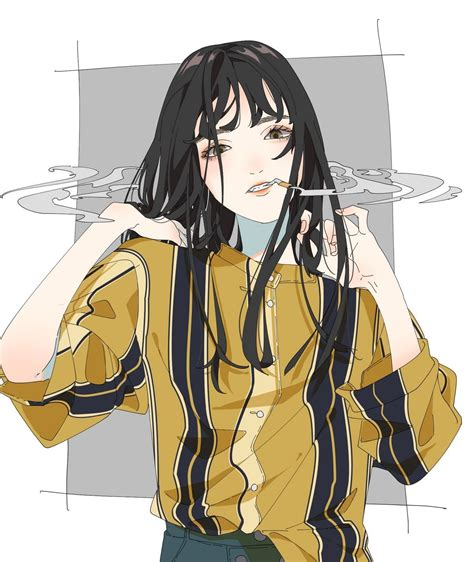 🖤 Aesthetic Girl Anime Pfp 2021