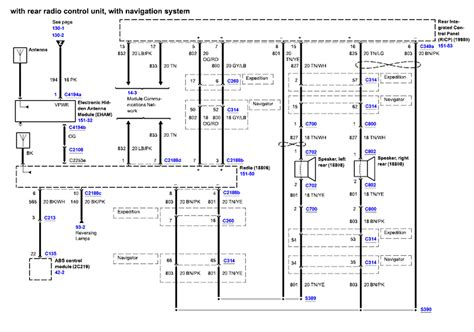 Ford Expedition Need Diagram For The Radio