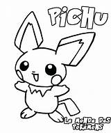 Coloring Pokemon Pages Pichu Raichu Starter Roblox Characters Machu Getcolorings Pikachu Character Cool Boy Printable Picchu Template Unusual Pag sketch template