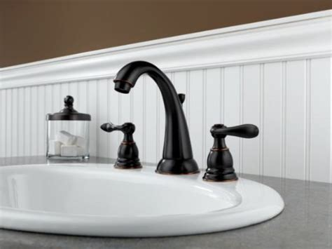 Delta Windemere Bathroom Faucet Bronze by Delta Windemere B3596lf Ob Two Handle Widespread Lavatory
