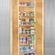 Spice Rack Pantry Door Mounted by 1000 Images About Door Mounted Spice Rack On