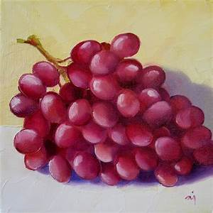 red grapes nel s everyday painting red grapes sold