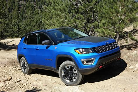2017 jeep compass trailhawk off road review