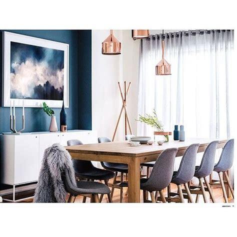 decoracion de comedores  color azul