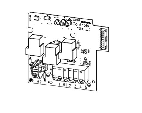 Iq 2020 Circuit Wiring Diagram by Heater Relay Board 74618 Iq 2020 Model For