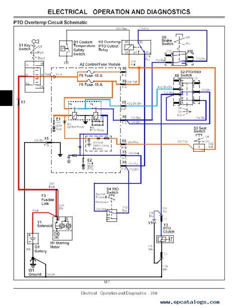 Deere Pto Wiring Diagram by Deere X495 Wiring Diagram Wiring Diagram Ebook