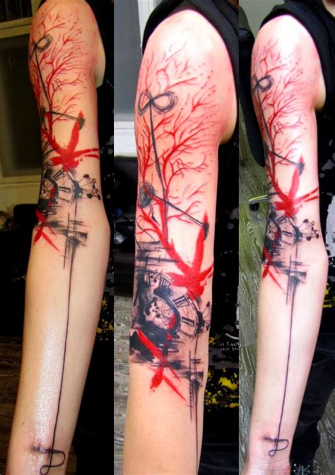 abstract tattoos  men  women abstract tattoo