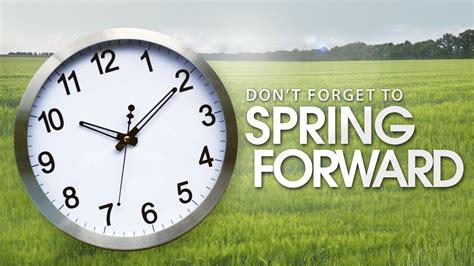 Day Light Saving Time Change by Be Readywisconsin When You Forward