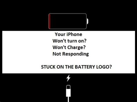 to do if your iphone wont charge how to fix iphone stuck at battery logo