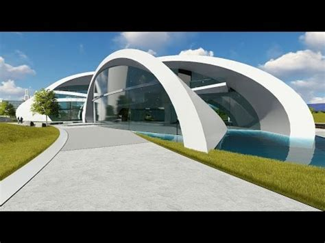 Google Futuristic Modern Building Concept Youtube