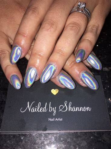 chrome nails unicorn nails nail art gallery