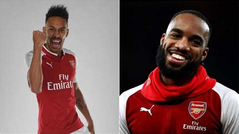 How does Aubameyang compare to new Arsenal team-mate ...