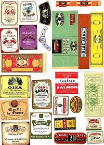 Print your own labels: Vintage Tea, Spice, & Biscuit Tins ...