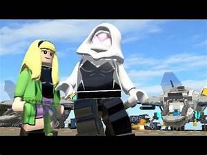 LEGO Marvel Super Heroes - Spider-Gwen ( CMM MOD ) - YouTube
