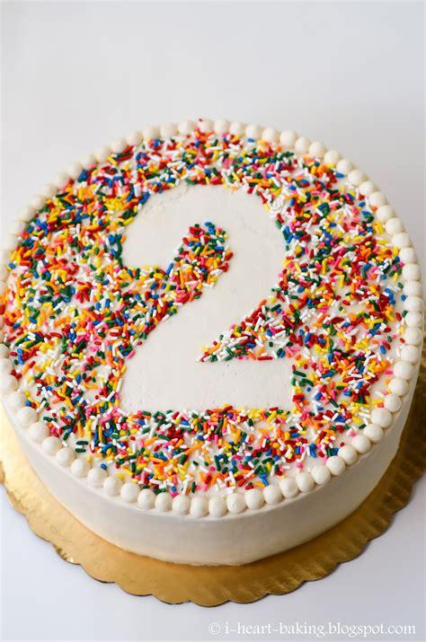 heart baking rainbow sprinkle birthday cake