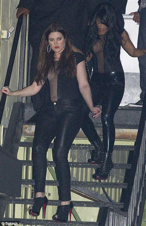 Khloe Kardashian wears something unflattering ...