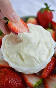 Fruit Dip with Marshmallow Fluff