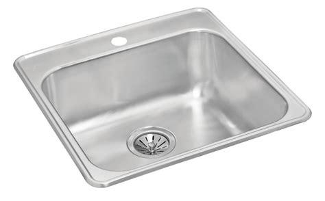 7 deep kitchen sink single bowl drop in 20 5 inch x 20 875 inch x 7 deep