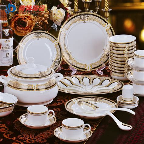 china bone dinnerware sets tableware dishes garden party banquet shipping luxurious 28pcs aliexpress suppliers bo ceramic