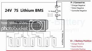 24v 25 2v 7s 30a 7x 3 6v Lithium Ion Lipo Battery Bms Pcm