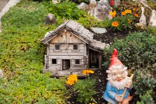 Mini Gnome Garden by How To Create A Fairy House Or Fairy Garden In Your Background