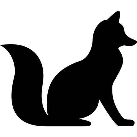 Fox Sitting free vector icons designed by Freepik Animal