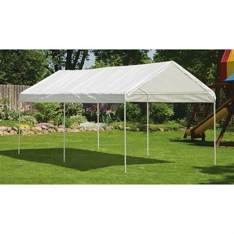 canopies and tarps canopies shelterlogic 10x20 canopy