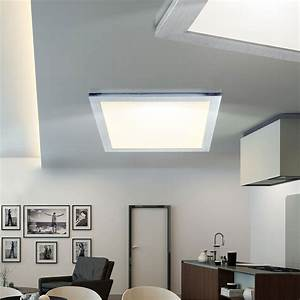 Led Beleuchtung Büro : design led panel 18 watt decken einbau leuchte b ro beleuchtung alu rahmen eek a ebay ~ Markanthonyermac.com Haus und Dekorationen