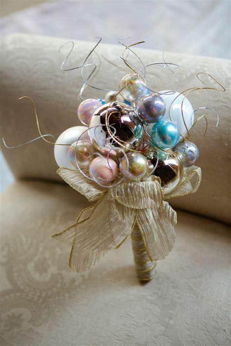 custom christmas bridesmaid s ornament bouquet by
