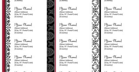 return address labels black  white wedding design