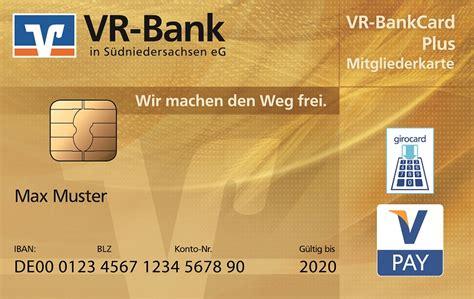 Vr Bank Karte