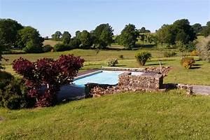 gite avec piscine en creuse 3 chb 6 pers a flayat creuse With location vacances limousin avec piscine