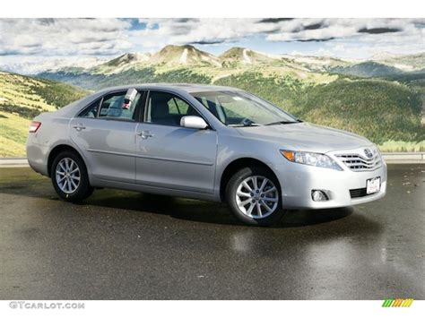 2011 Toyota Camry V6 by 2011 Classic Silver Metallic Toyota Camry Xle V6 46545371