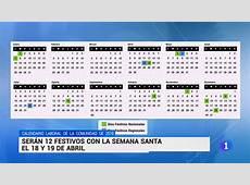 Calendario laboral Comunidad de Madrid 2019 YouTube
