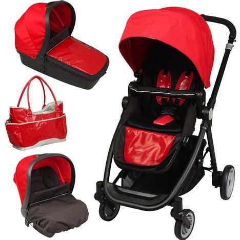 poussette combine siege auto poussette bébé 4 roues combiné 3 en 1 poussette siège
