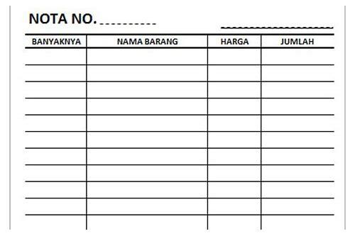 Download Nota Bon Kosong Ernabnawho