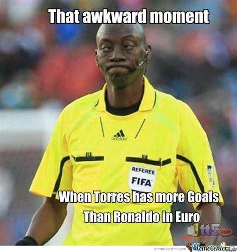 Ronaldo Meme - torres owns ronaldo by cosmin10 meme center