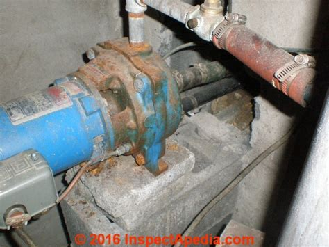 Ground Floor Cast Change by Two Line Jet Pumps For Water Installation Repair
