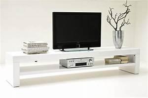 Banc Tv Design : banc de lit blanc laque ~ Teatrodelosmanantiales.com Idées de Décoration
