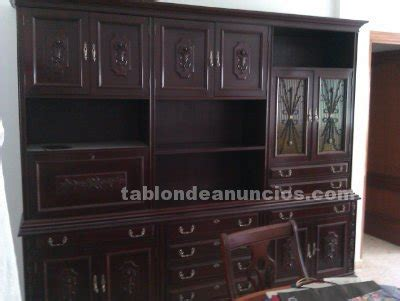 tablon de anuncios mueble comedor antiguo  talla