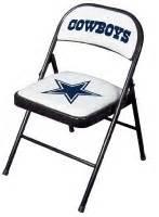 folding chair dallas cowboy stuff