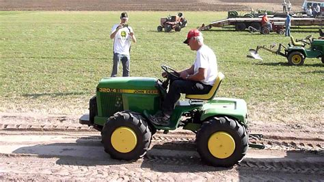 deere garden tractor articulating deere garden tractor plow days 2012