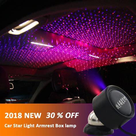 Overhead Interior Car Lights by Led Car Roof Lights Projector Universal
