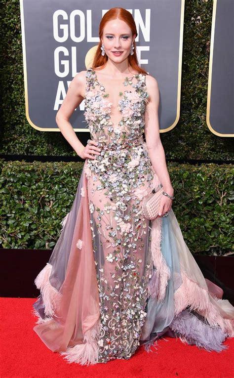 Barbara Meier from 2018 Golden Globes Red Carpet Fashion | E! News