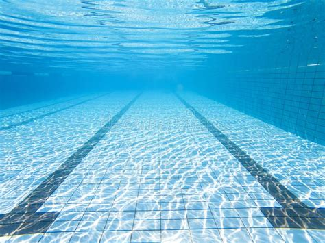 Underwater View Of The Swimming Pool Stock Image