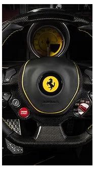 Carlex Design Gives Yellow Ferrari F12 a New Interior ...