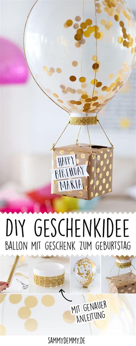 geburtstagsgeschenke selber machen drei diy ideen www sammydemmy de